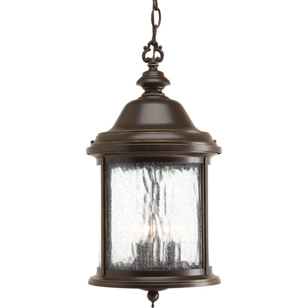 Ashmore Collection 3 Light Antique Bronze Hanging Lantern 7.85247E 11 Canada Discount