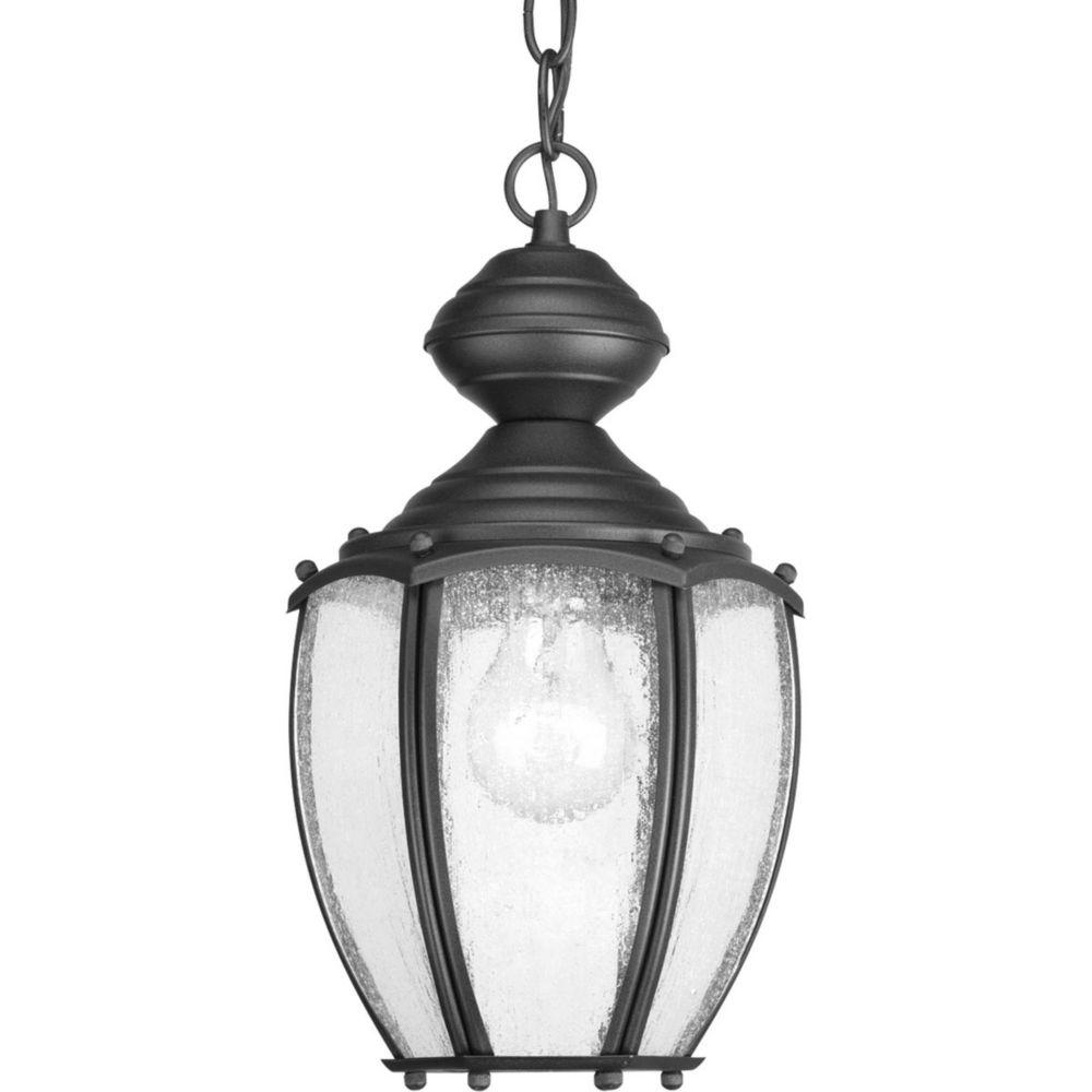 Roman Coach Collection 1 Light Black Hanging Lantern