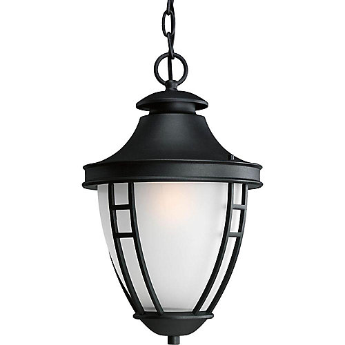 Fairview Collection 1 Light Black Hanging Lantern