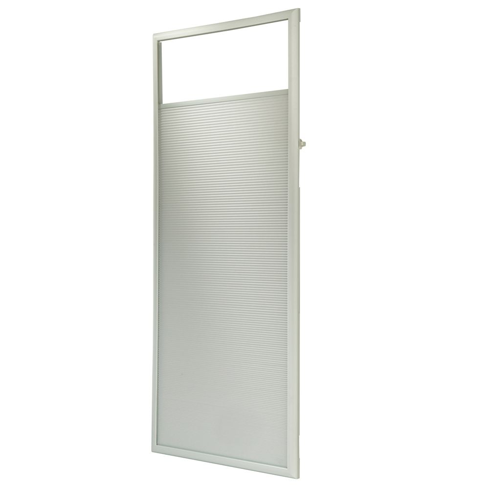 ODL 22-inch x 64-inch Fabric Enclosed Add-on Cellular Shade for Entry Doors