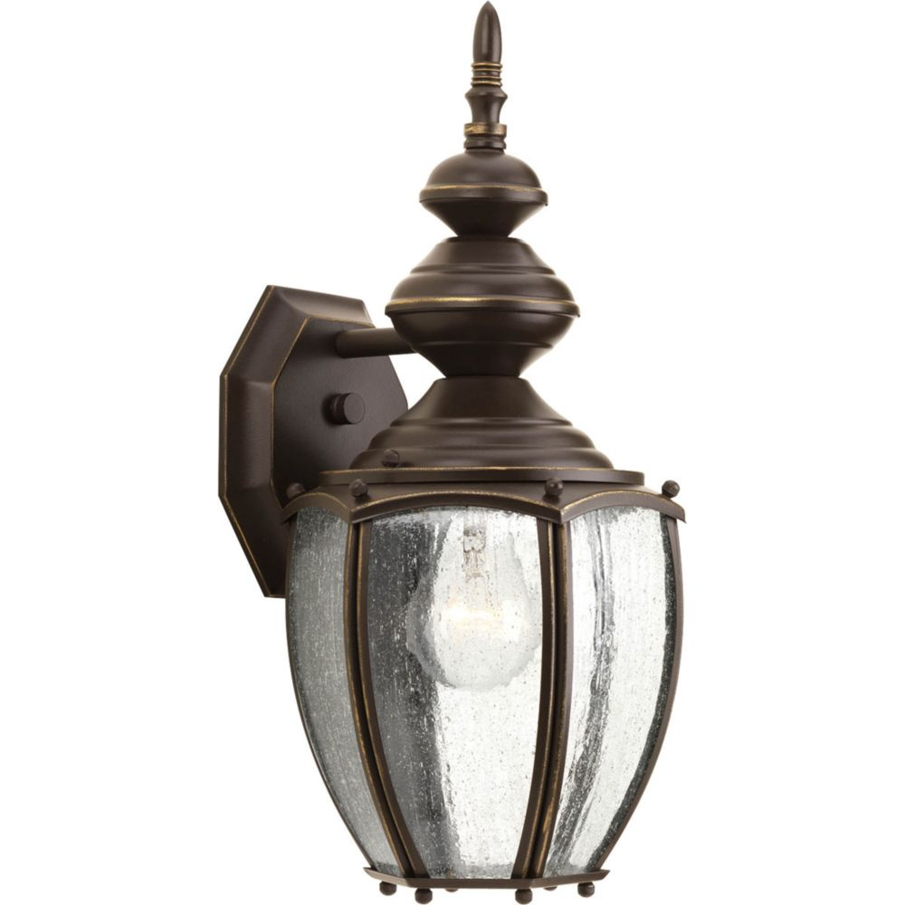 Roman Coach Collection 1 Light Antique Bronze Wall Lantern