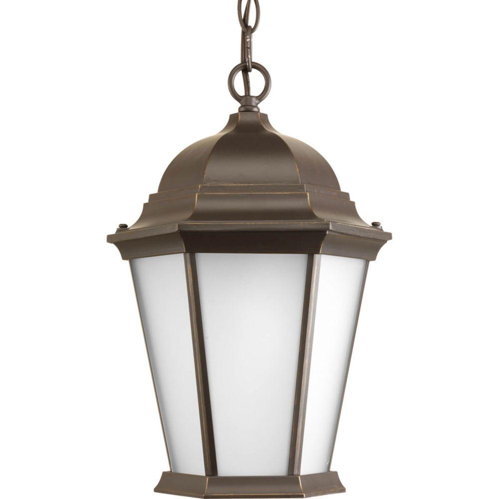 Welbourne Collection 1 Light Antique Bronze Hanging Lantern
