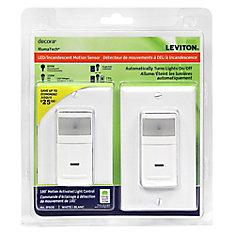 Decora Occupancy Sensor 180 White (2-Pack)