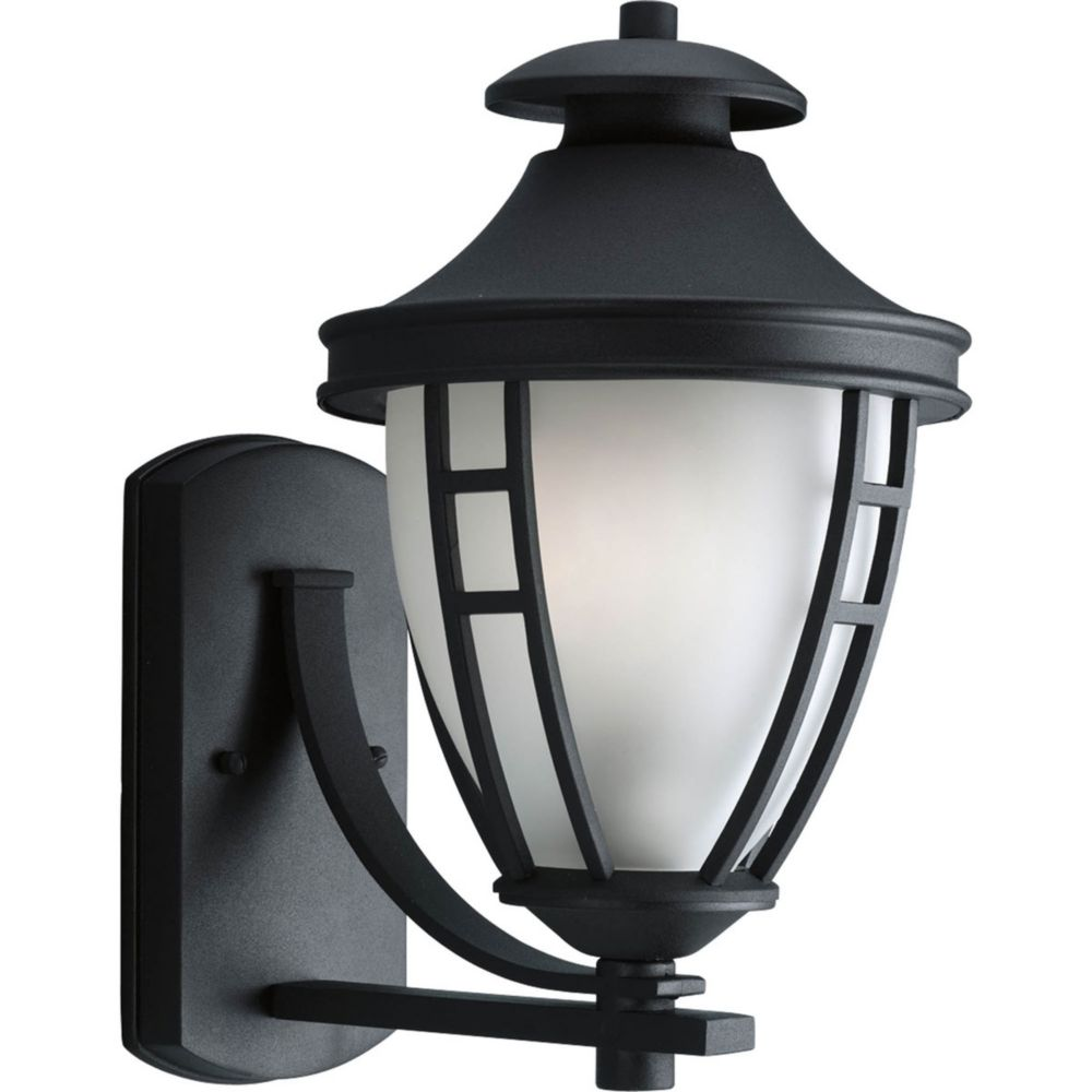 Fairview Collection 1 Light Black Wall Lantern