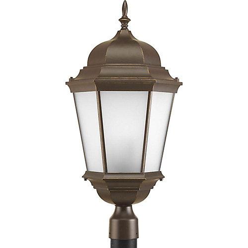 Lampadaire à 3 Lumières, Collection Welbourne - fini Bronze à l'Ancienne