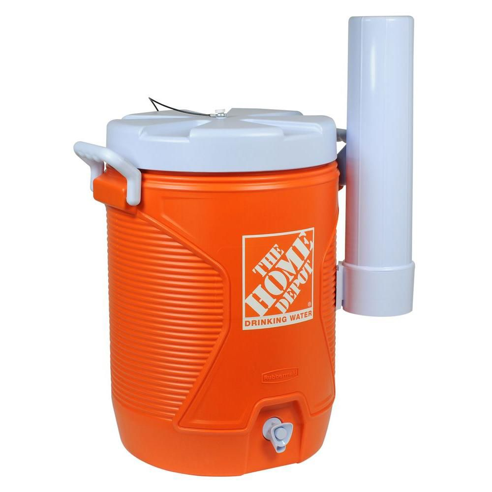 Water Cooler with Home Depot Logo - 5 Gallon