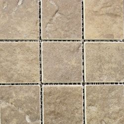 New Town Arno 2-inch x 2-inch Riverbed Ceramic Mosaic Tile