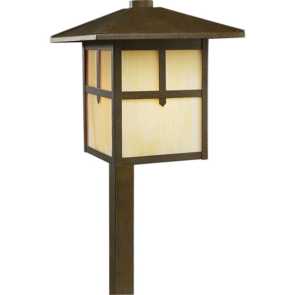 120-Volt 60-watt Weathered Bronze Landscape Path Light