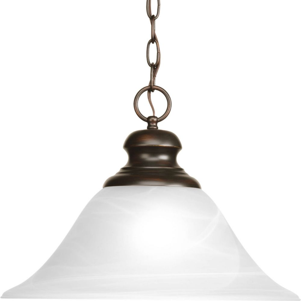 Bedford Collection 1 Light Antique Bronze Pendant