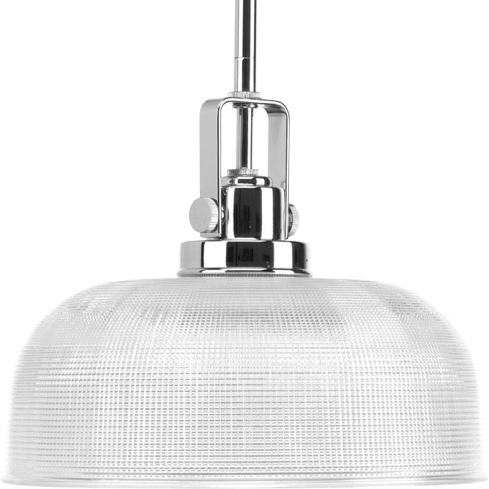 Archie Collection 1 Light Chrome Pendant