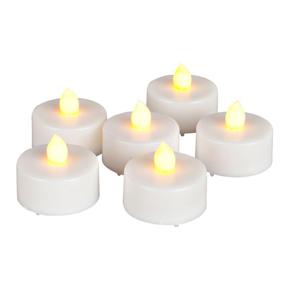 6 bougies chauffe-plats