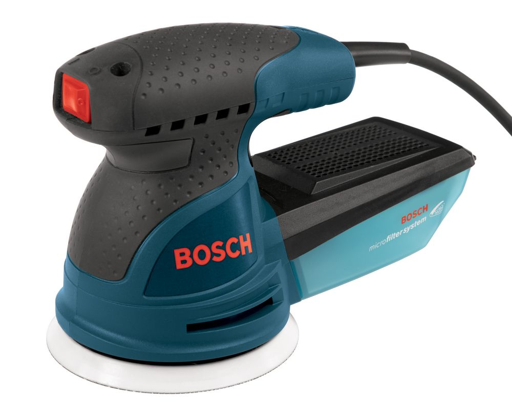 Bosch 2.5 Amp Corded 5-inch Single Speed Palm Random Orbital Sander/Polisher