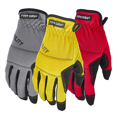 All Purpose High Performance Work Gloves (3-Pack)