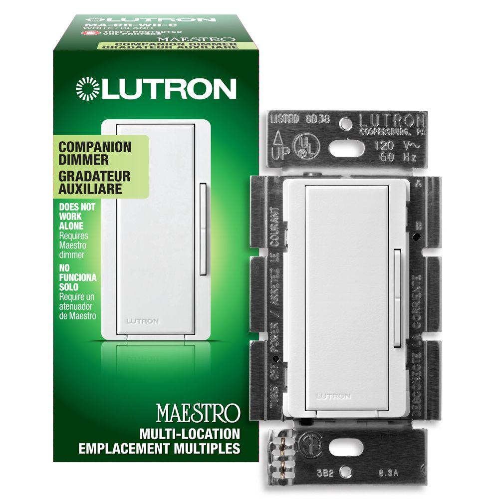 Gradateur Auxiliaire Maestro 600-Watts - Blanc