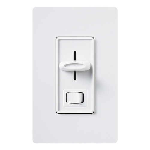 Lutron Skylark 1000 Watt Single Pole Preset Dimmer - White | The ...