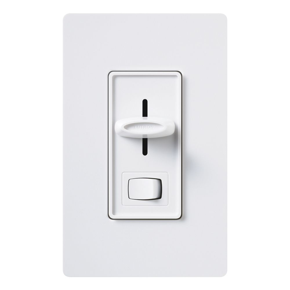 Skylark 1000 Watt Single Pole Preset Dimmer - White