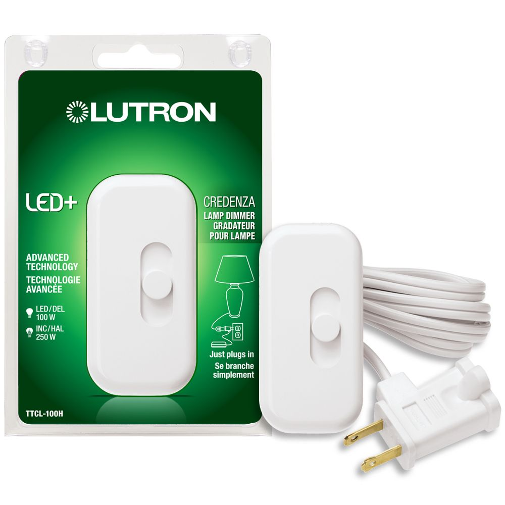 Atron Wire In Touch Dimmer The Home Depot Canada 220v Ac Lamp Maestro Credenza Single Pole Dimmable Cfl Led
