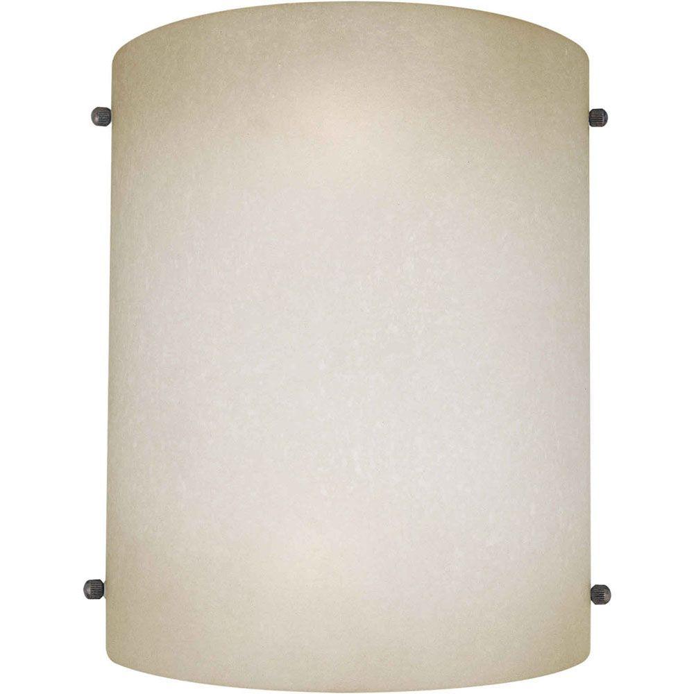 Burton 2-Light Wall Brushed Nickel Wall Sconce
