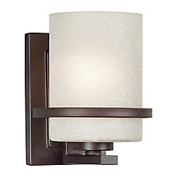 Filament Design Burton 1-Light Wall Antique Bronze Wall Sconce