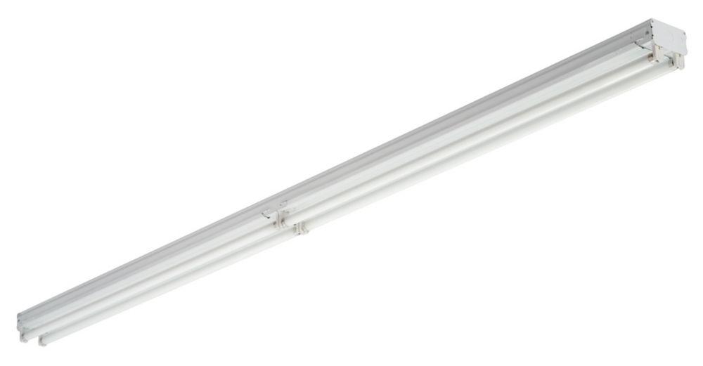 Luminaire industriel 8' haute performance à régulateur électronique 4L T8 32 Watt