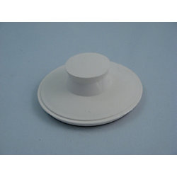 Jag Plumbing Products Replacement IN-Sink-Erator Drain Stopper in WHITE
