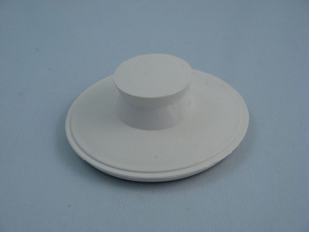 Replacement IN-Sink-Erator Drain Stopper in WHITE