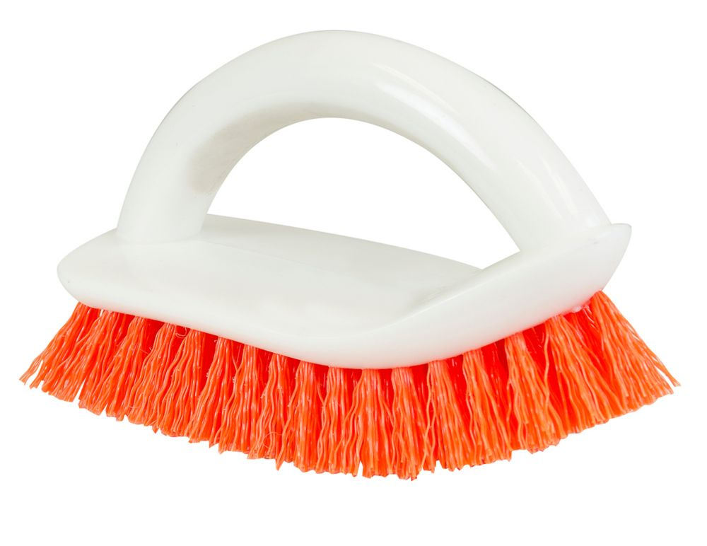 Curved End Scrub Brush