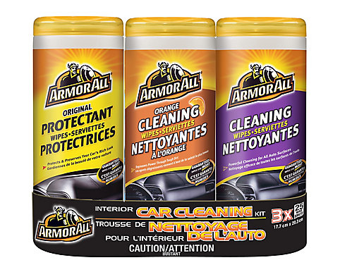 Armor All Interior Car Cleaning Wipes (3-pack) | The Home Depot Canada