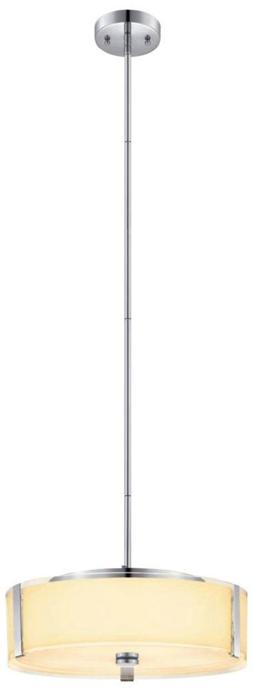 40,64cm Luminaire suspendu, Fini chromé