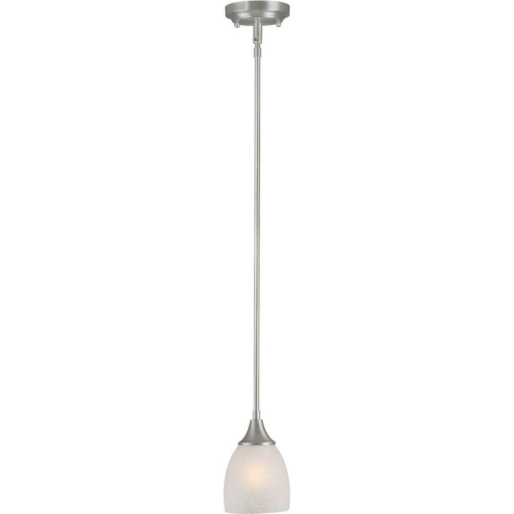 Burton Incandescent Light Ceiling Brushed Nickel  Incandescent Pendant