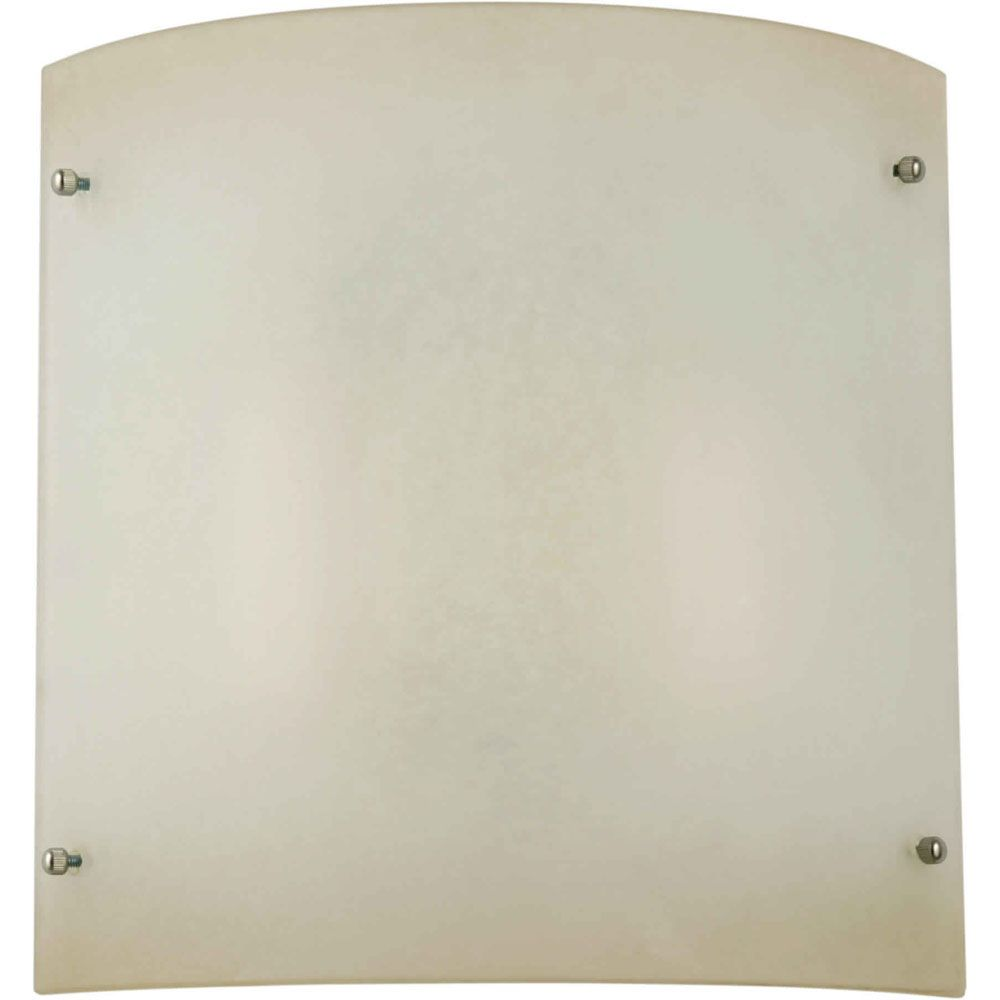 Burton 2 Light Wall Brushed Nickel  Compact Fluorescent Lighting  Wall Sconce