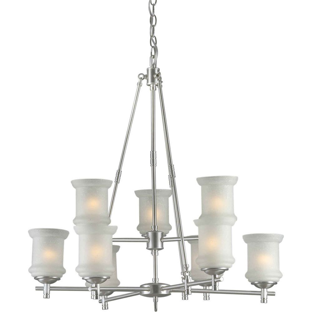 Home decorators collection 4 light brushed nickel sphere burton 9 light ceiling brushed nickel chandelier arubaitofo Images