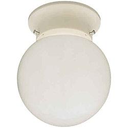 Filament Design Plafonnier avec abat-jour de spécialité couleur en Blanc
