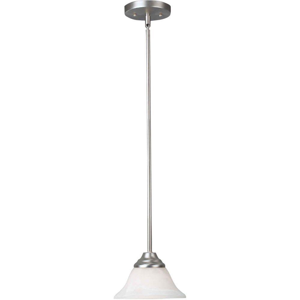 Filament Design Burton-Light Ceiling Brushed Nickel Pendant