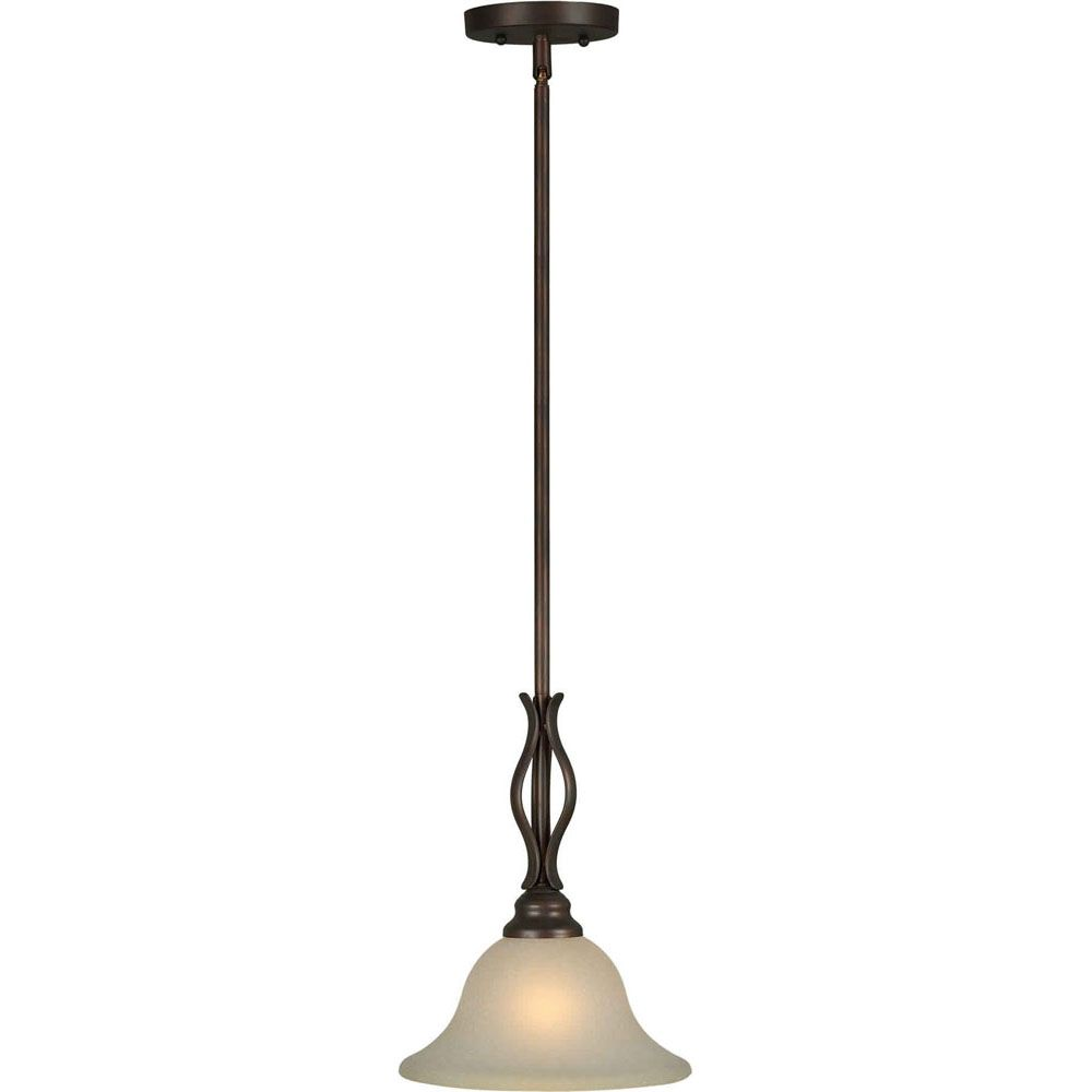 Burton Incandescent Light Ceiling Antique Bronze  Incandescent Pendant