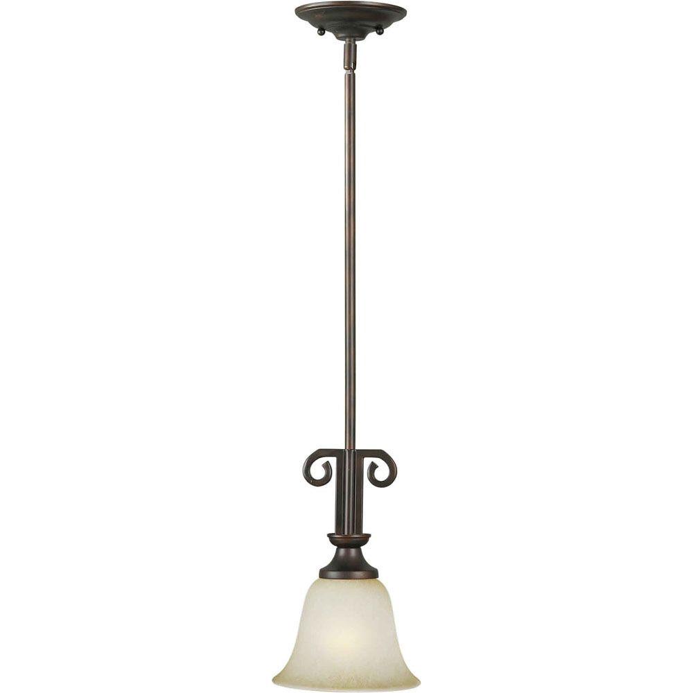 Burton-Light Ceiling Antique Bronze Pendant
