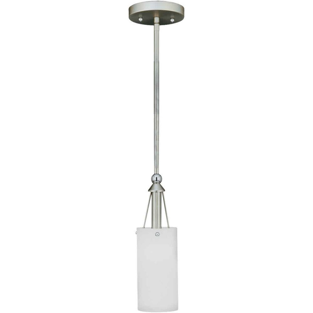 Burton-Light Ceiling Brushed Nickel Pendant