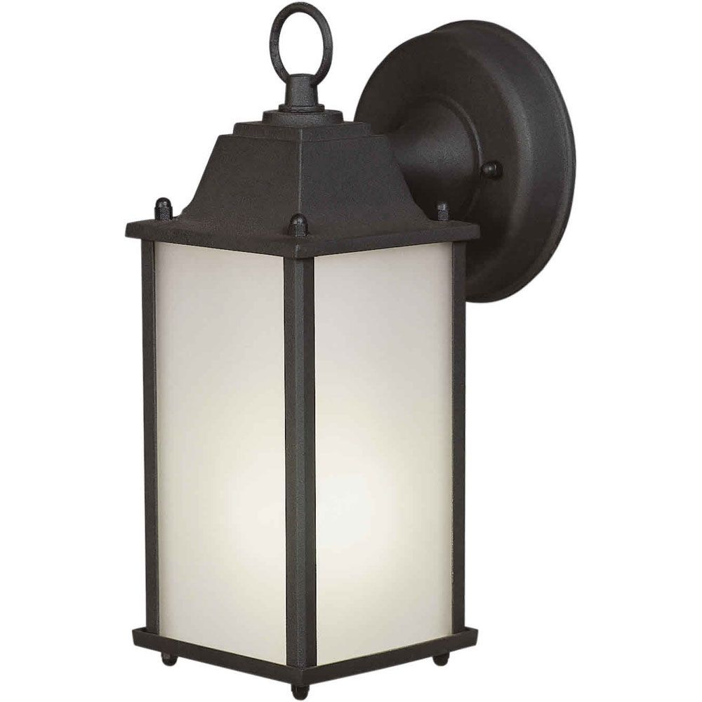 Outdoor wall lights sconces lanterns more the home depot canada aloadofball