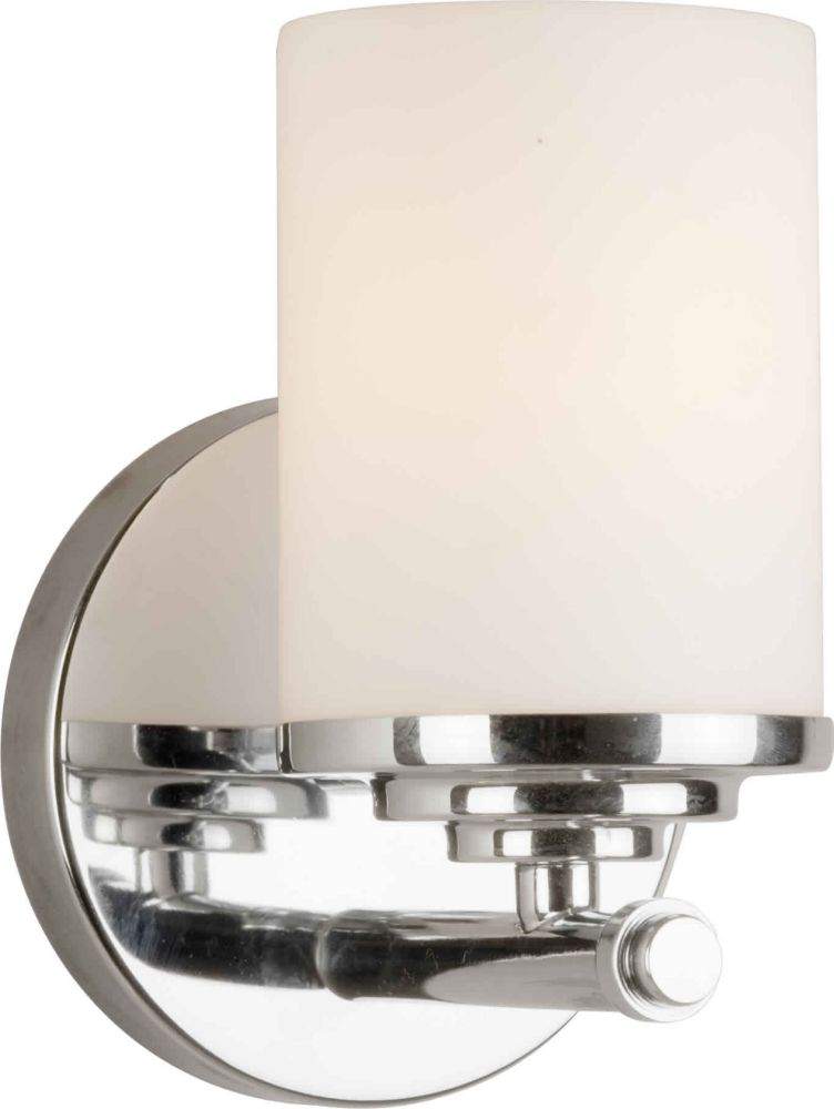 Burton 1-Light Wall Chrome Bath Vanity