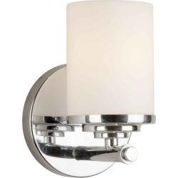 Filament Design lumière fixée au mur avec abat-jour de spécialité couleur en argent