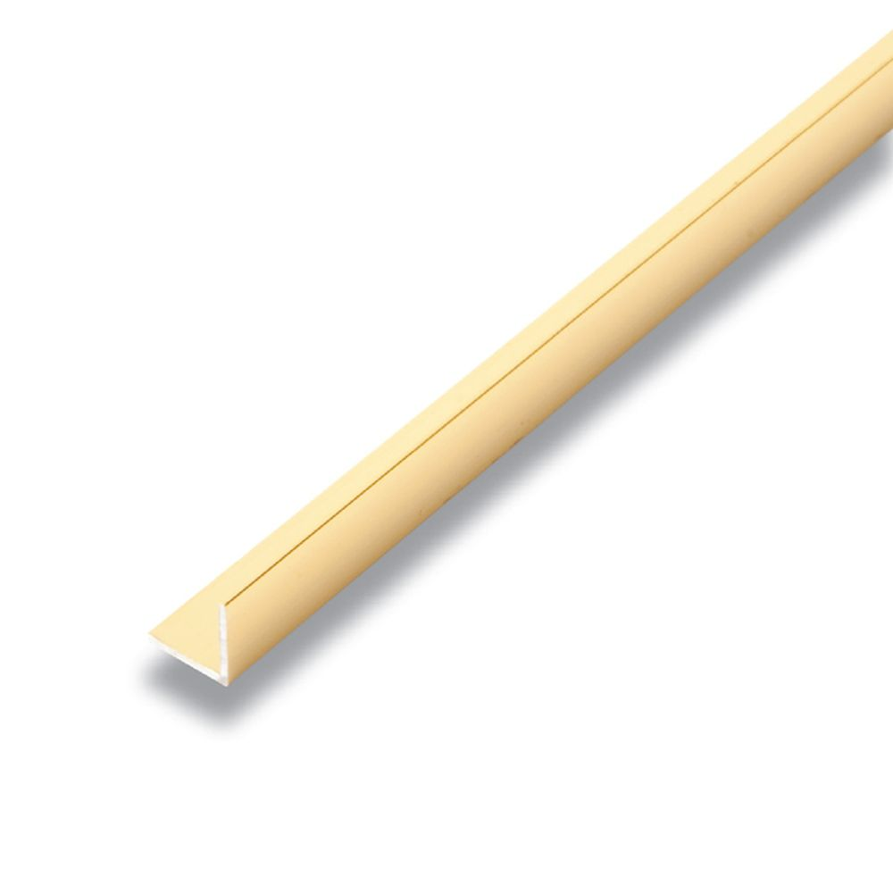 Metal Angle Mira Gold 1/2 In. x 1/2 In. x 8 Ft.