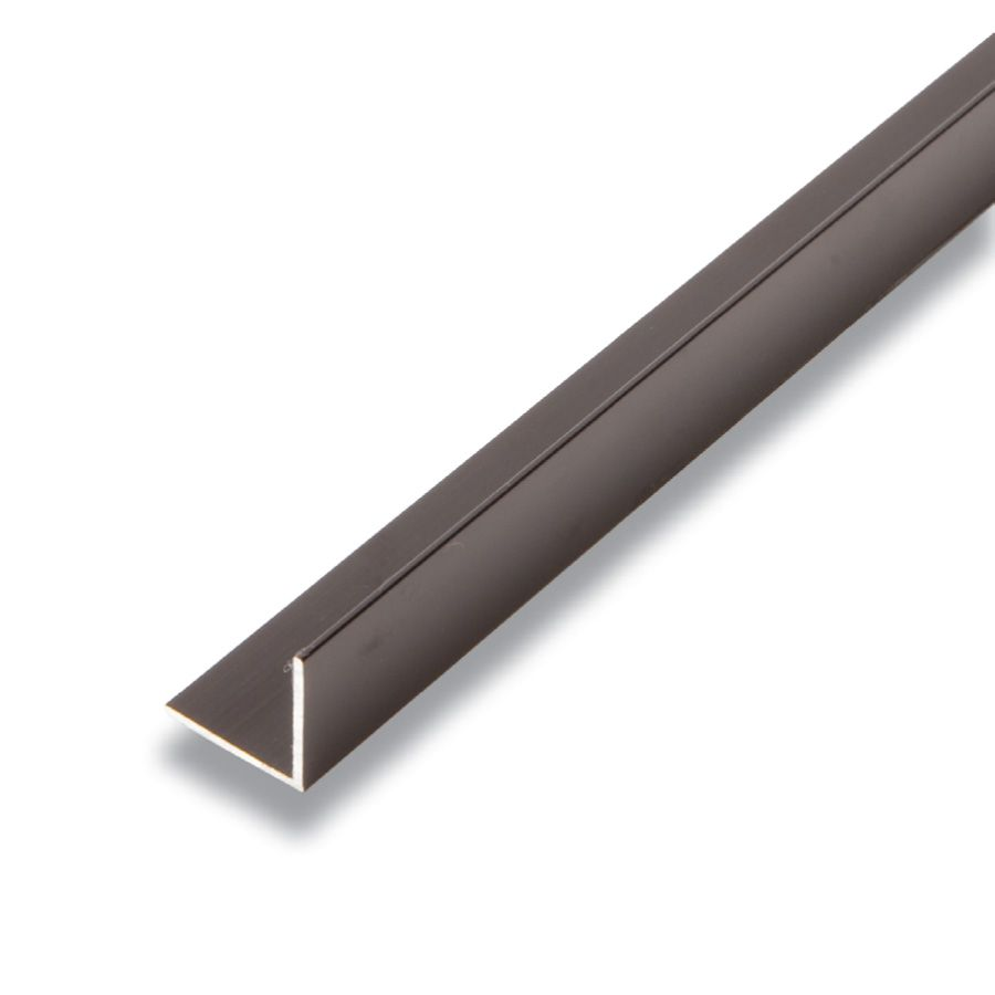 Alexandria Moulding Metal Angle Black 3/4-inch x 3/4-inch x 8 Ft.