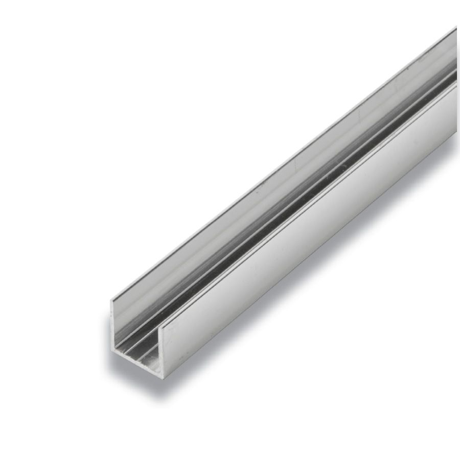 Metal U-Channel Mira Lustre 5/8 In. x 5/8 In. x 8 Ft.