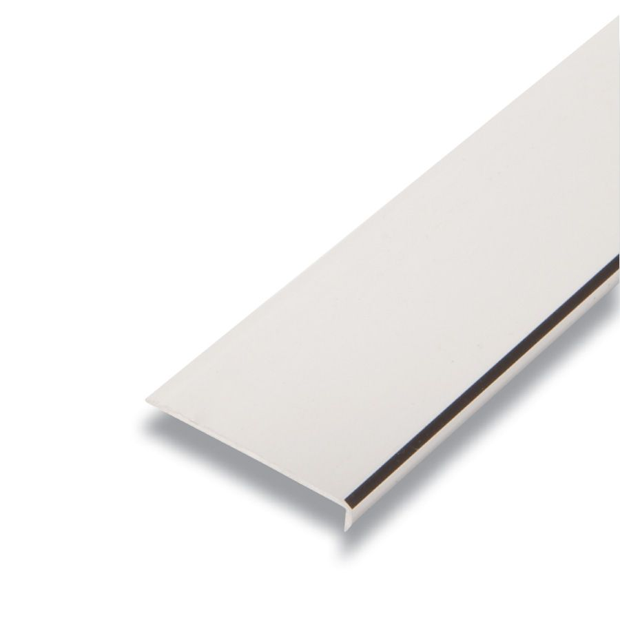 Metal Plain Edging Mira Lustre 1/4 In. x 1-9/16 In. x 8 Ft.