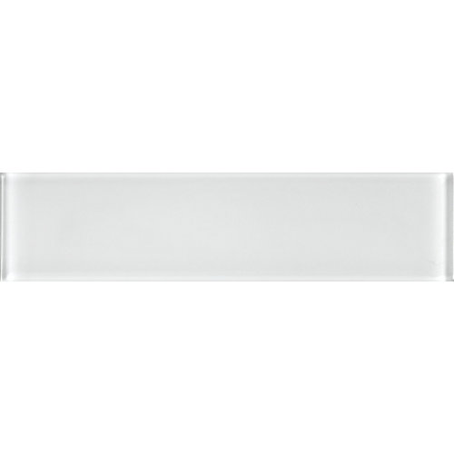 3-inch x 12-inch Glass Tile in Nordic Ice
