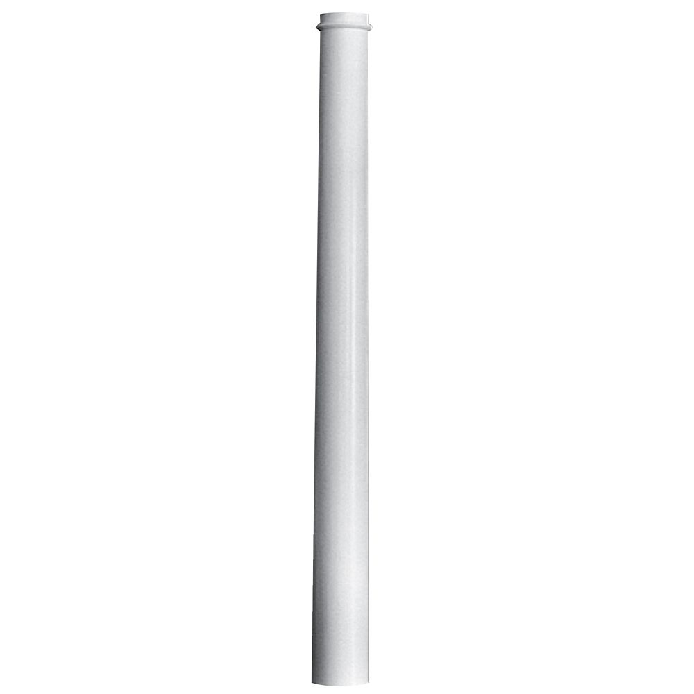 Fiberglass Round Tapered Plain Column 8 Inches x 8 Inches x 96 Inches