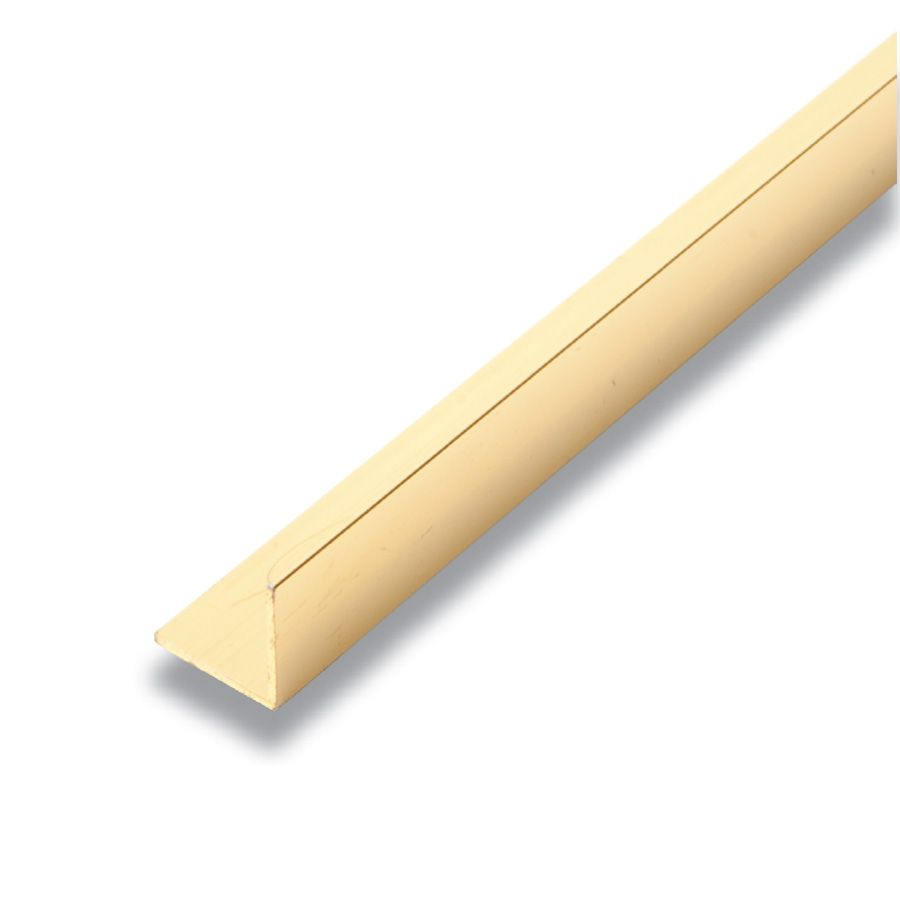 Metal Angle Gold Lustre 3/4 In. x 3/4 In. x 8 Ft.