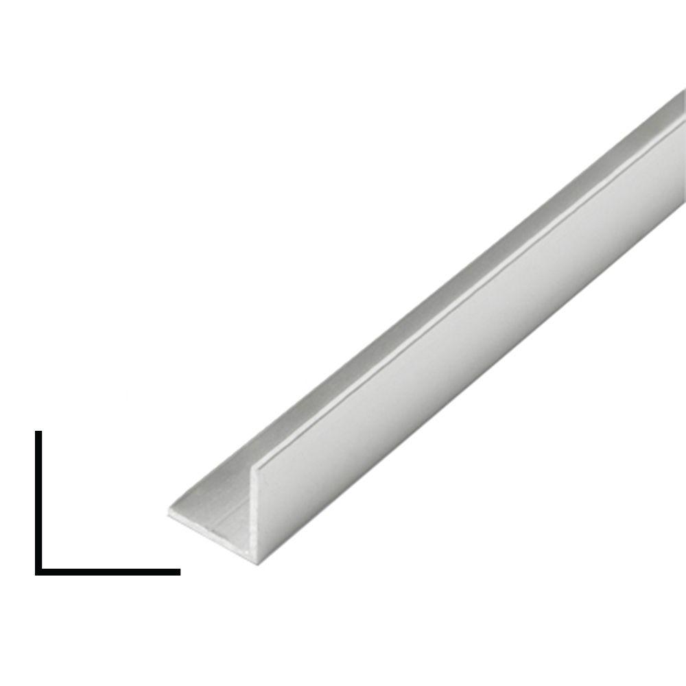 Metal Angle Argent 1 po x 1 po x 8 pieds
