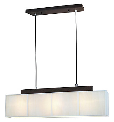 Eglo tosca 3 light pendant fixture with cream string shade in eglo tosca 3 light pendant fixture with cream string shade in antique brown the home depot canada mozeypictures Images