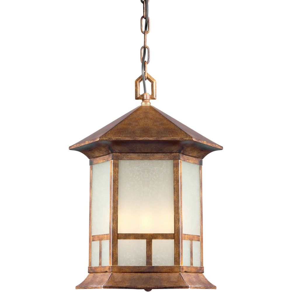 Burton 4 Light Rustic Sienna  Outdoor Incandescent Ceiling Light